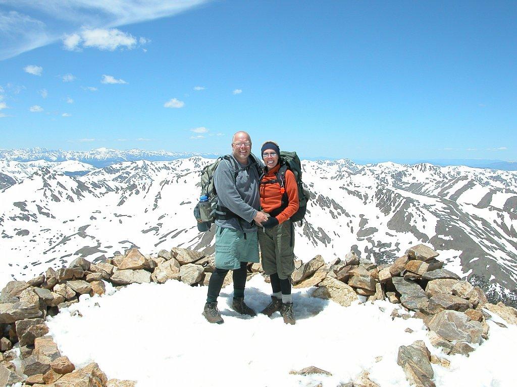 Mount Elbert (14,433 feet)